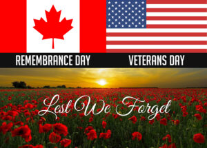 Remembrance/Veterans Day